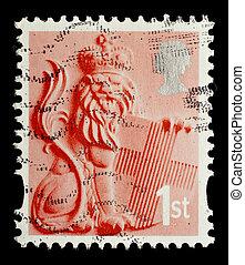 Postage Stamp - UNITED KINGDOM - CIRCA 2003: An English...