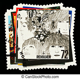 Postage Stamp - UNITED KINGDOM - CIRCA 2007: A British Used ...