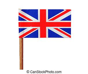 United Kingdom flag isolated