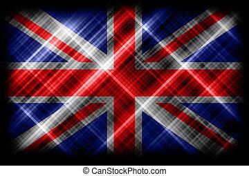 United Kingdom flag, national flag, modern flag
