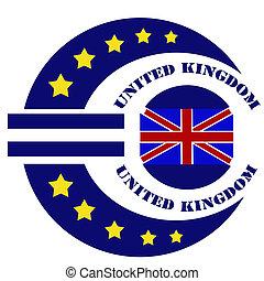 United Kingdom-label