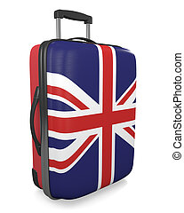 United Kingdom travel suitcase - United Kingdom vacation ...