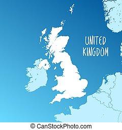 United Kingdom Vector Map
