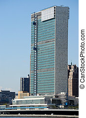 United Nations Building - The United Nations viewed from...
