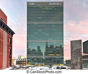 United Nations Headquarters - United Nations headquarters in...