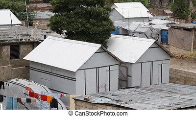 United Nations housing Port-au-Prince Haiti