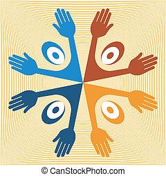 United people design.