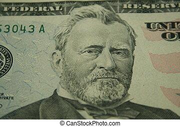 $50 dollar bill