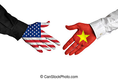 United States and Vietnam leaders