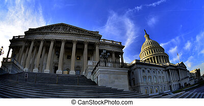 United States Capitol Building in Washington DC public building