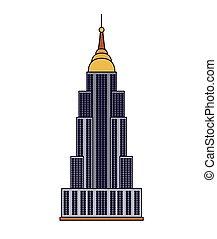 united states capitol isolated icon design