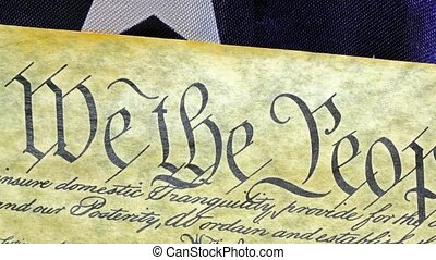 United States Constitution - Preamble to the Constitution...