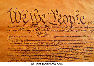 United States Constitution - Preamble to the Constitution