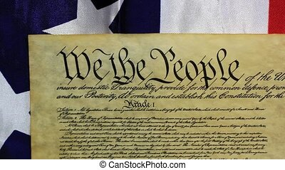 Preamble to the Constitution the United States of America Historical Document - We The People Bill of Rights