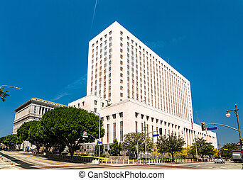 United States Court House in Los Angeles City