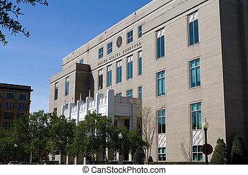 United States Courthouse located in downtown Pensacola,...