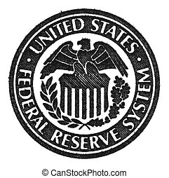 Federal Reserve System symbol. - United States Federal...