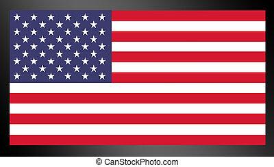 united states flag - red, blue and white united states flag...