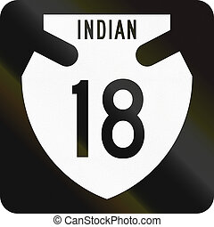 United States Indian Route