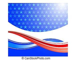 United States of America background