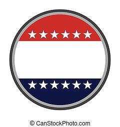 united states of america emblem vector isolated graphic