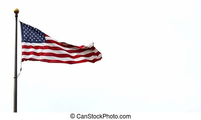 United States of America flag 1080p