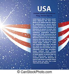United States of America Flag background USA - United States...