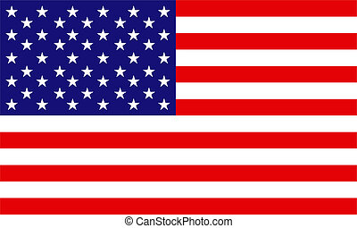United States of America Flag - Flag of the United States of...
