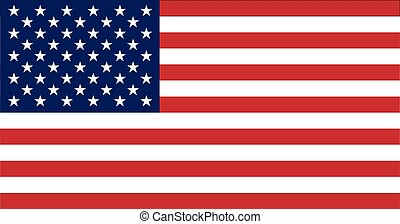 United States of America flag - The official flag of the...