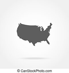 United States of America Map