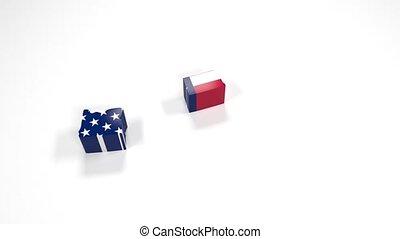 United States of America USA, State North Dakota. 33. -...