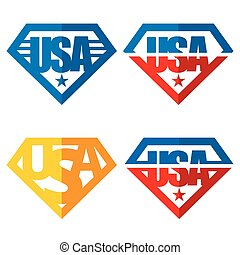 United states of America Vector logos