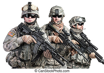 paratroopers - United States paratroopers airborne infantry...
