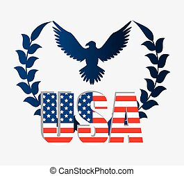 United states patriotism design. - United states of america...