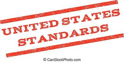 United States Standards Watermark Stamp