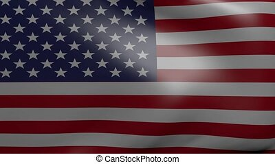 united states strong wind flag