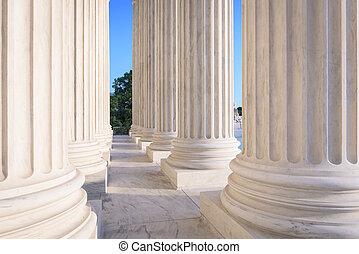 United States Supreme Court Building in Washington, DC, USA.
