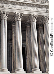 United States Supreme Court Pillars of Justice and Law