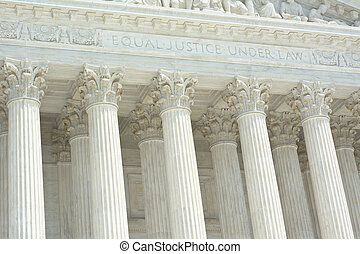United States Supreme Court with Text