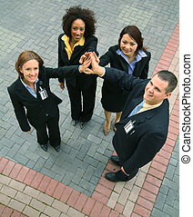 Unity Of Diversity Business People