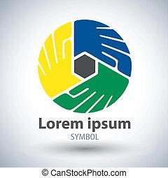 Unity symbol symbol icon