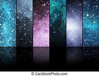 univers, étoiles,  constellations, planètes