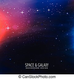univers, galaxie, fond