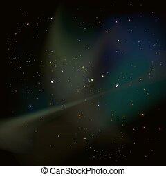 univers, nébuleuse, étoiles