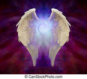 Universal Angel Wings - Angel Wings and Universal Healing...