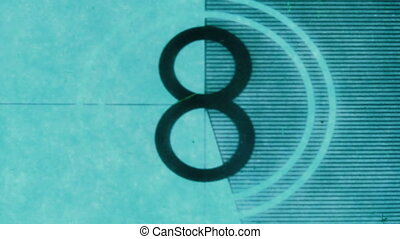universal film/academy leader countdown, made using 35mm...