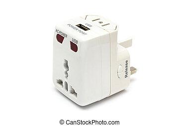 Universal Power Adapter - An universal power adapter on...