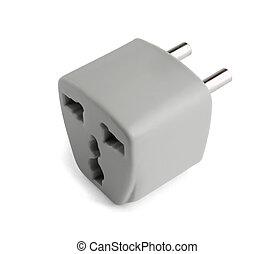 Universal power adapter - Universal AU US UK to EU power...