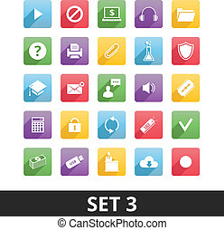 Universal Vector Icons Set 3