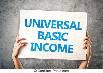 universale, fondamentale, reddito, concetto